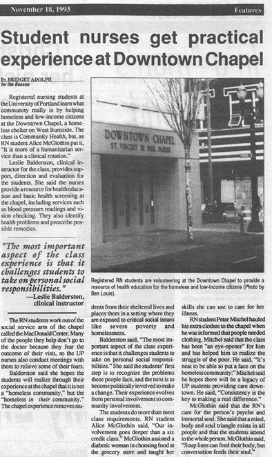 Beacon, November 18, 1993, p. 8