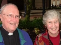 Rev. Richard Berg, C.S.C., and Mary Sue Richen, 2008