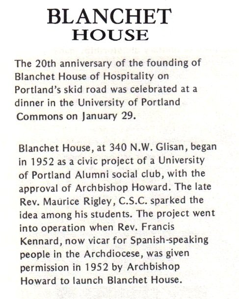 Alumni Bulletin text, 1972