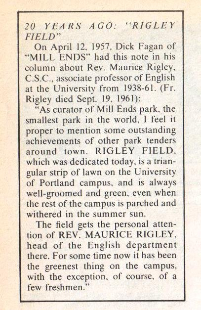 Alumni Bulletin text, 1976