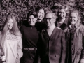 Fr. Lloyd Teske, C.S.C. with members of the Salzburg group, 1972-74