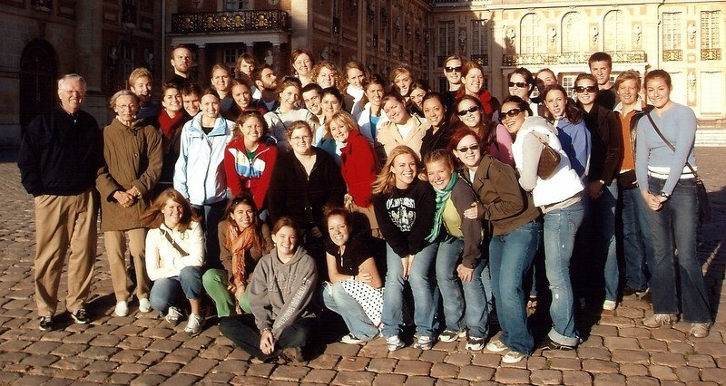 Salzburg group with Fr. John Wironen, C.S.C., 2005-06