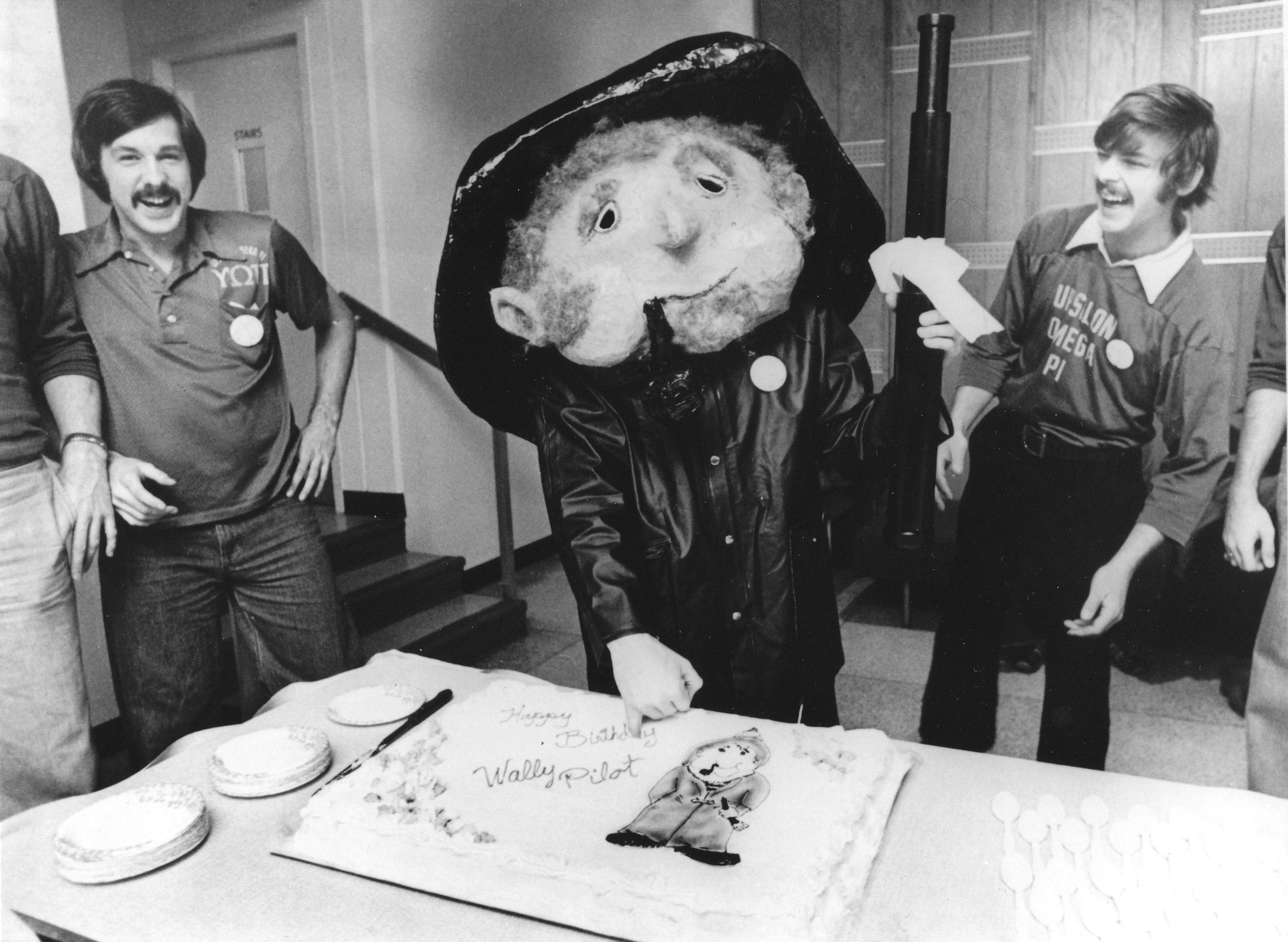 Wally Pilot 30th birthday, 1978