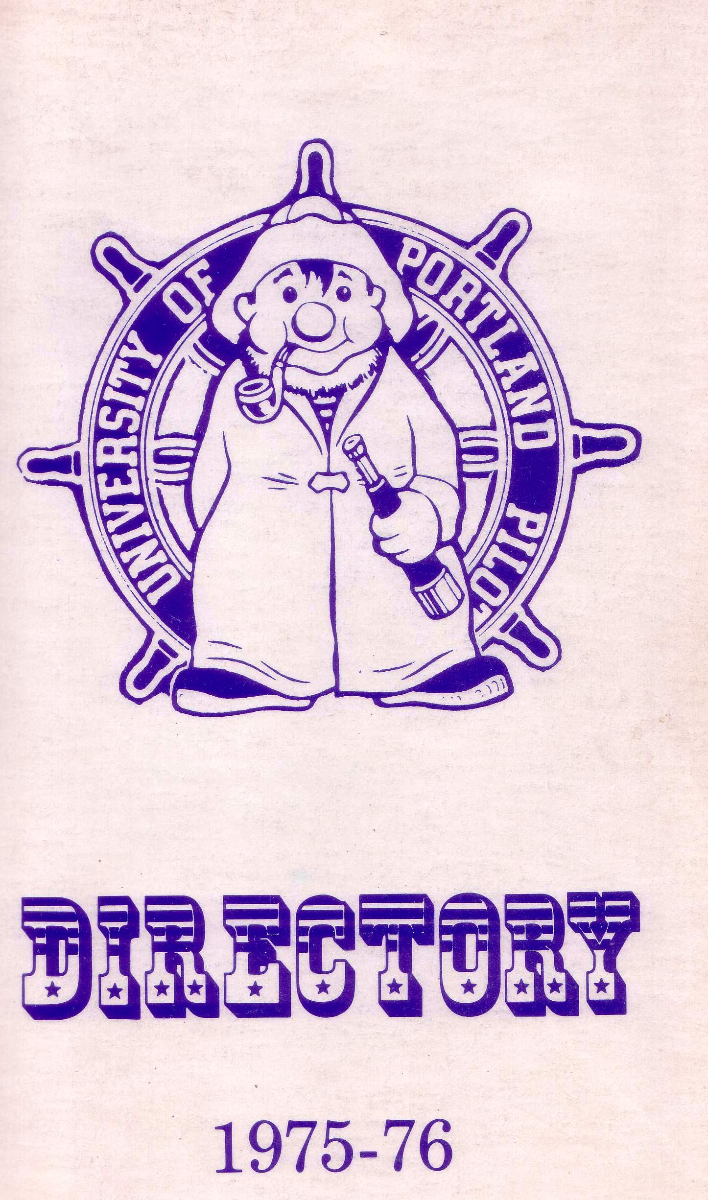 Directory front cover, 1976