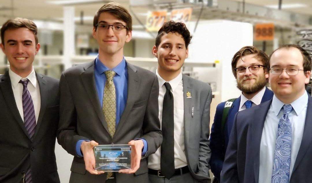 2020 EE Team - Second Place UTDesign Expo