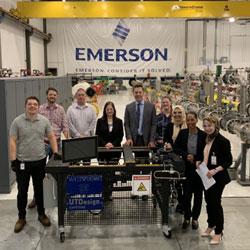 UTDesign Capstone Emerson Visit