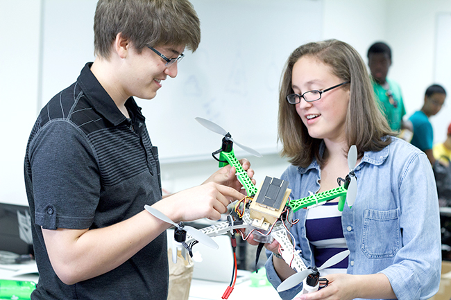 Quad-Copter Engineering Camp