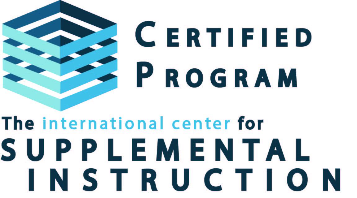 Certified Program, The International Center for Supplemental Instruction.