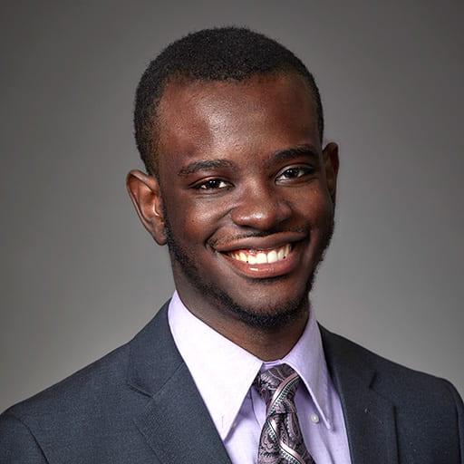 Gottfreid Lutumba Full-Time MBA ambassador