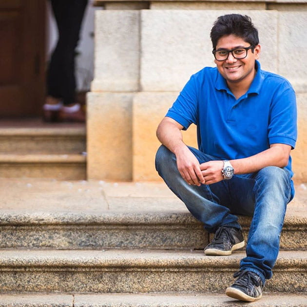 Mohit Agarwal on campus