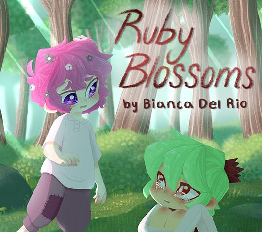 Ruby Blossoms. By Bianca Del Rio