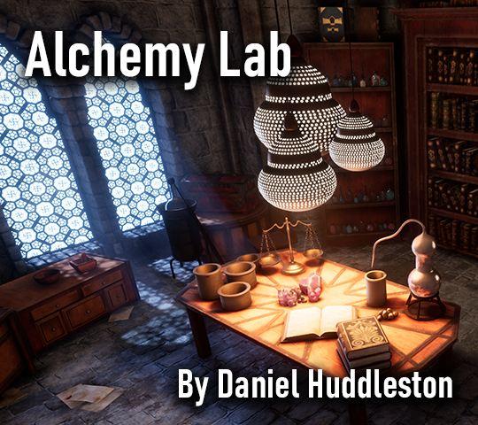 Alchemy Lab. By Daniel Huddleston