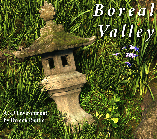 Boreal Valley, A 3D Environment by Demetri Suttle