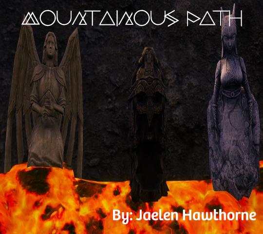 Mountainous Path. By: Jean Hawthorne