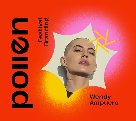 pollen; Festival Branding. Wendy Ampuero