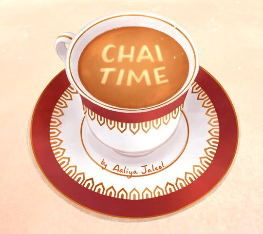 Chai Time, by Aaliya Jaleel