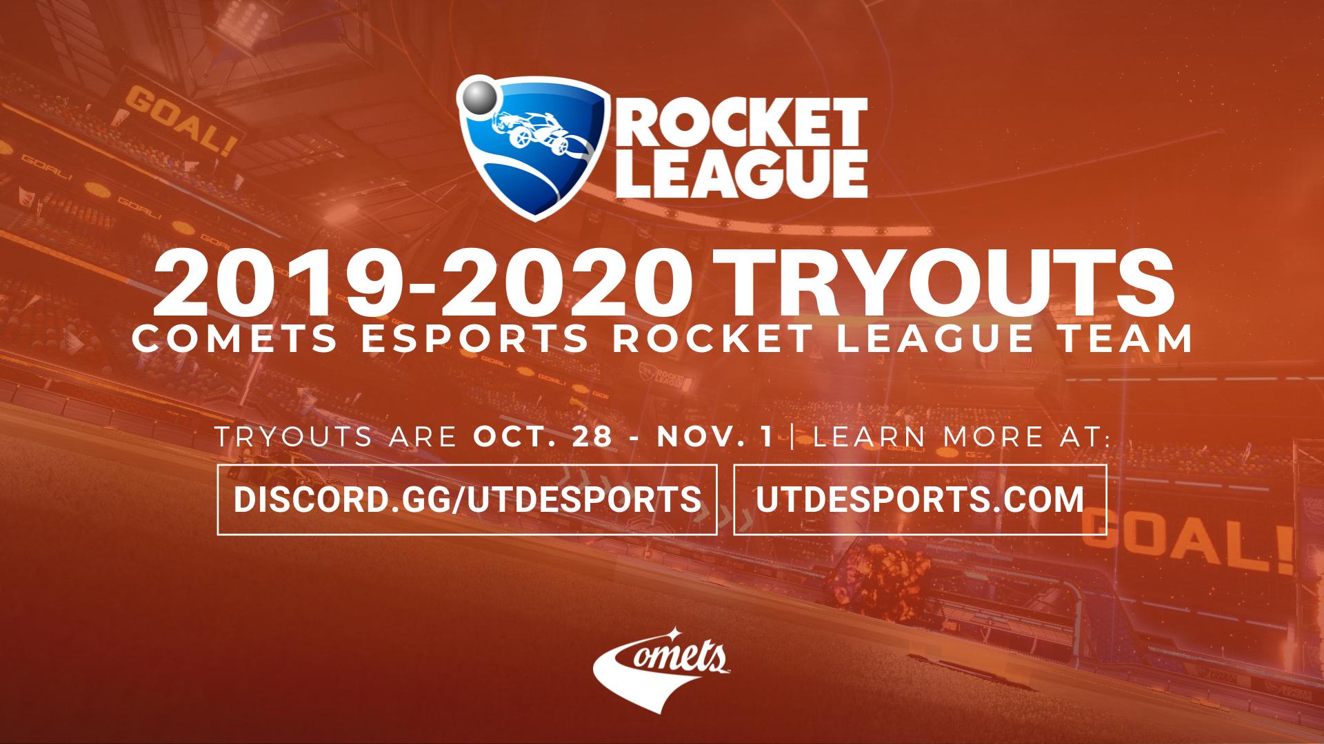 Announcing The 4th Comets Esports Team: Rocket League!