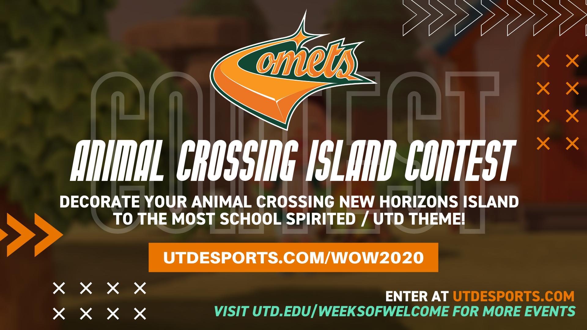 UTD Animal Crossing Island Theme Contest – Fall 2020