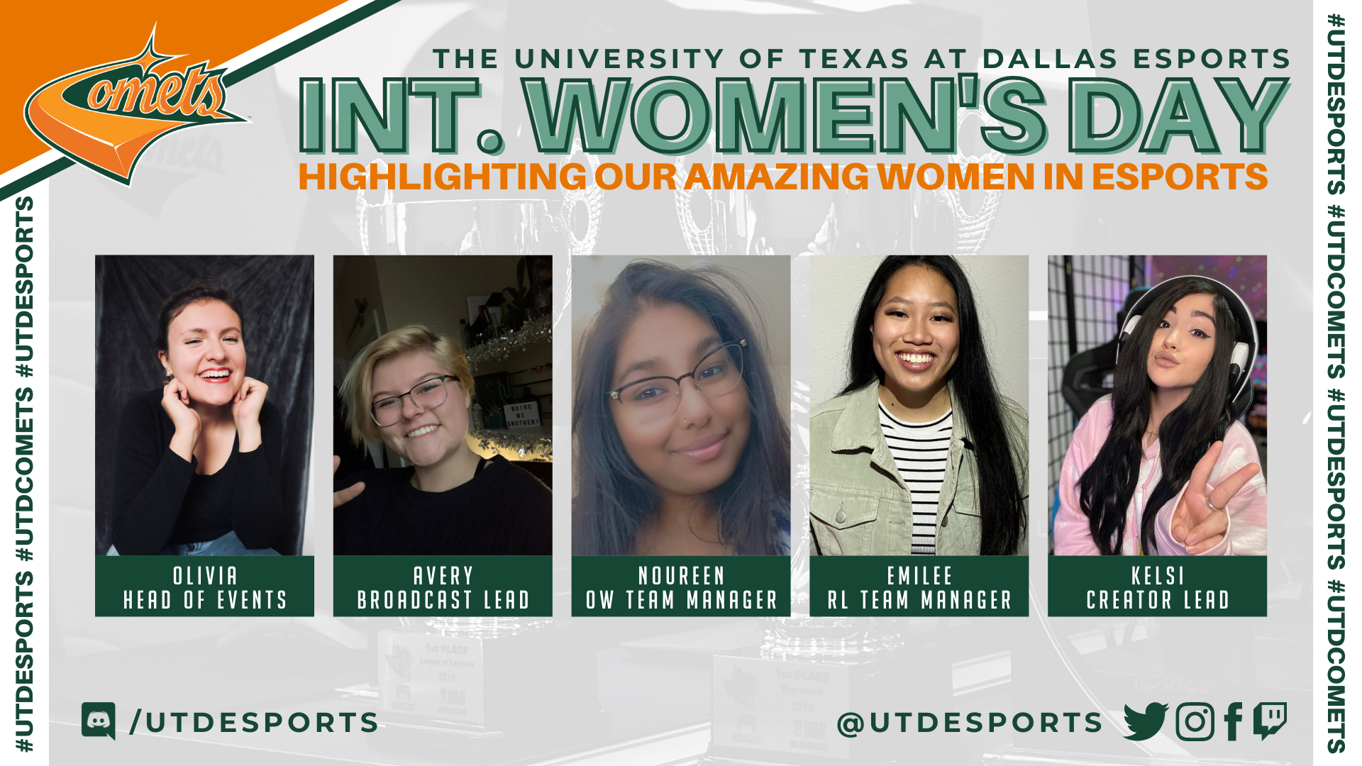 Highlighting Our Amazing Women in Esports