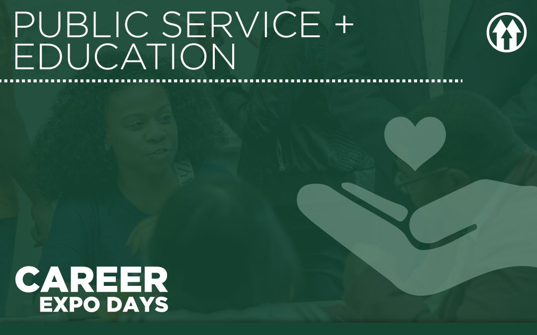 Public Service & Edu Career Expo Logo