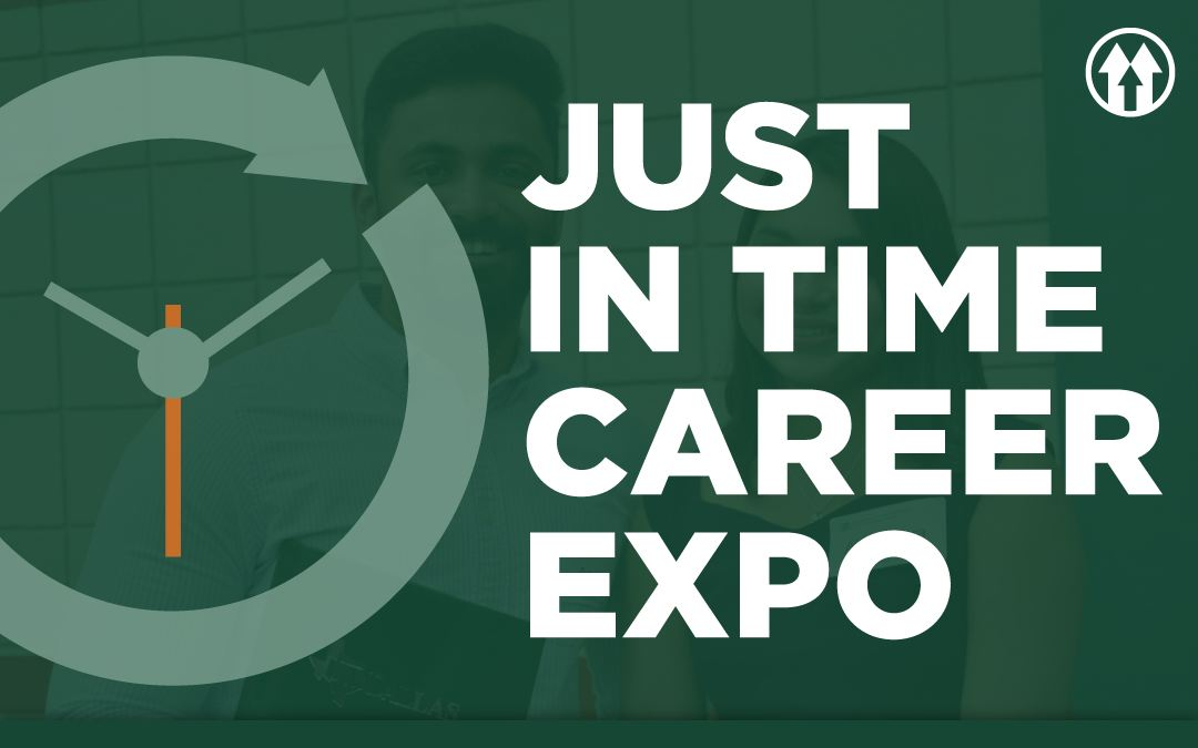 Just in Time Career Expo Logo
