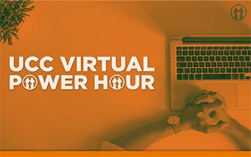 UCC Virtual Power Hour Event Logo