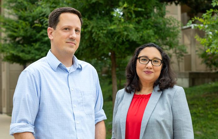 Dr. Noah Sasson and Dr. Amandeep Sra have been honored as two of The University of Texas System's best educators.