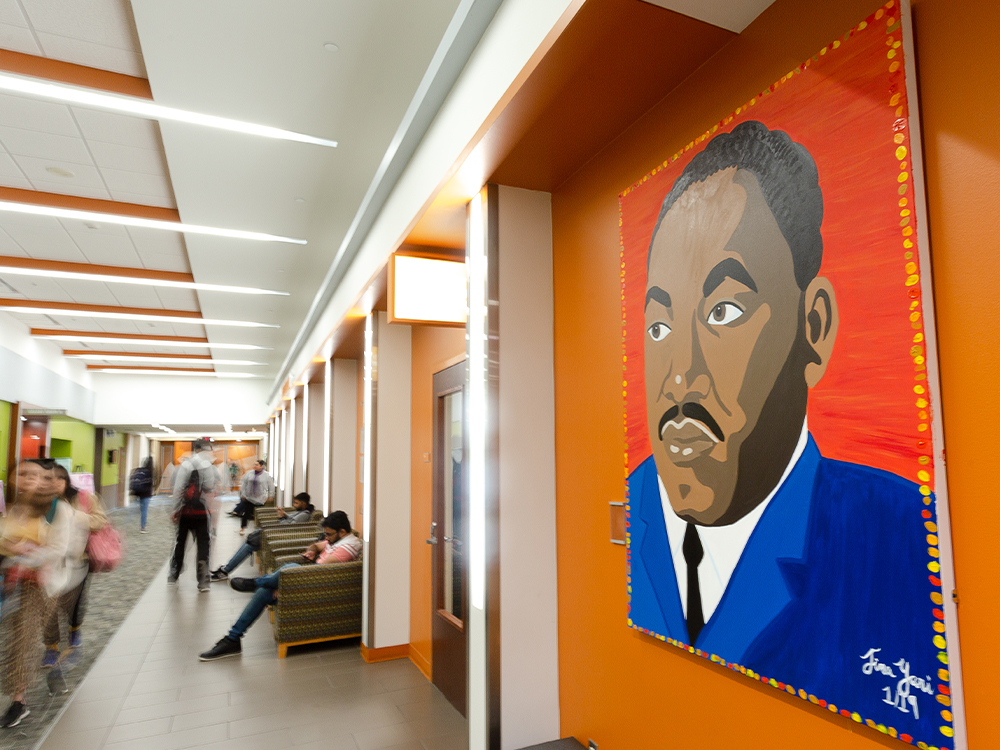 Painting of Martin Luther King Jr