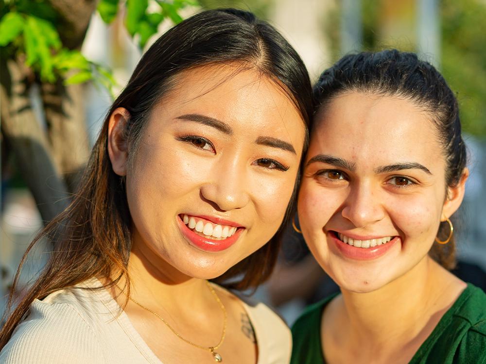 Grace Nguyen and Leena Berriche