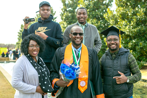 Bachelor's in Information Technology and Systems graduate who plans to continue the Fast Track to get his Master's