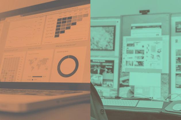 data visualizations for data science versus analytics
