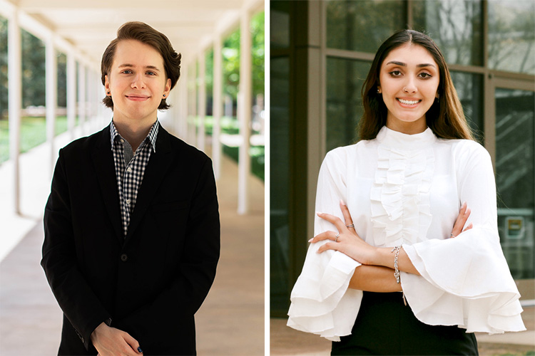 Meet the New President, Vice President of Student Government