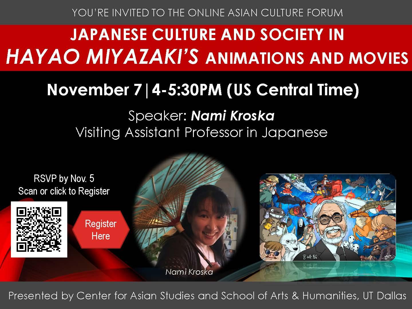 Japanese Culture and society in Hayao Miyazaki's movies, pdf
